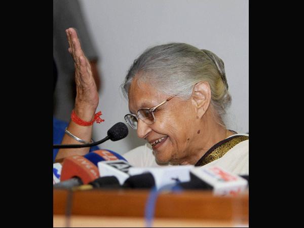 Sheila Dikshit praises Narendra Modi