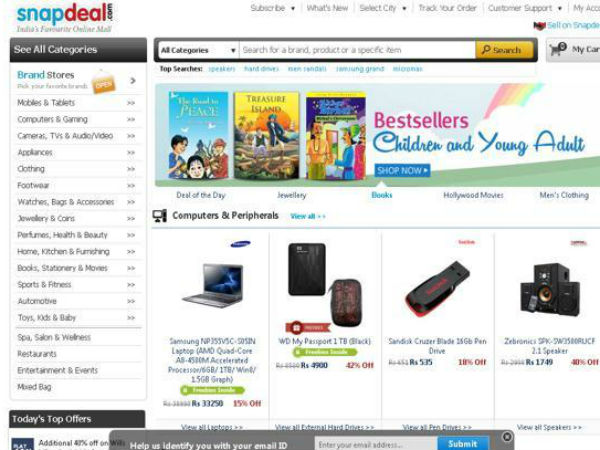 Snapdeal clinches $627 mn mega deal