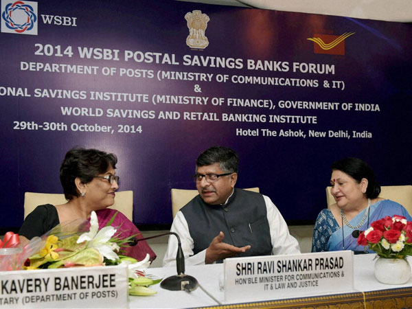 Inauguration of the Postal Saving Banks Forum's
