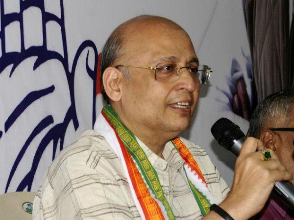 Congress spokesman Abhishek Singhvi.