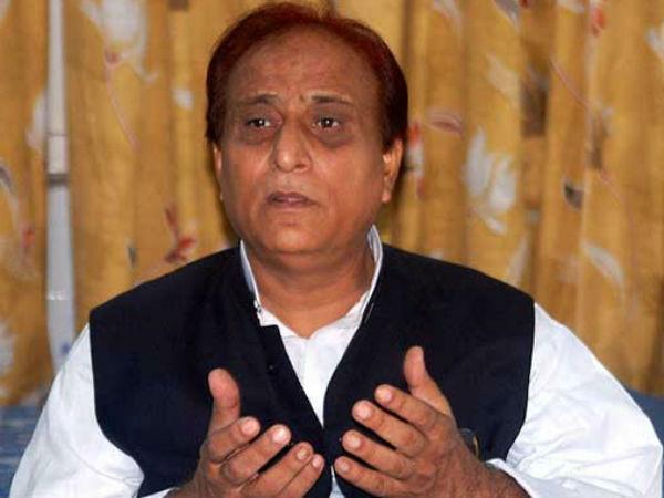 UP Minister Azam Khan.
