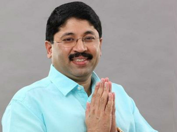 Dayanidhi Maran summoned by CBI court
