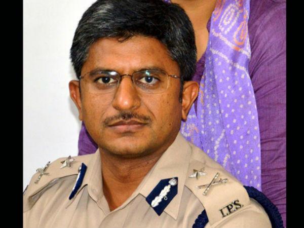 Gurgaon Police Commissioner Alok Mittal.