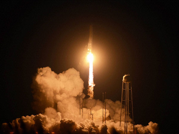 NASA spacecraft explodes after launch