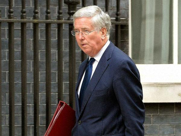 British Defence Secretary Michael Fallon.