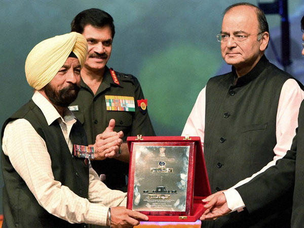 honoured Param Vir Chakra to Captain Bana Singh