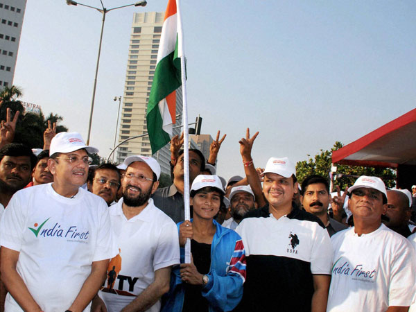 Run For Unity event at Marine Drive