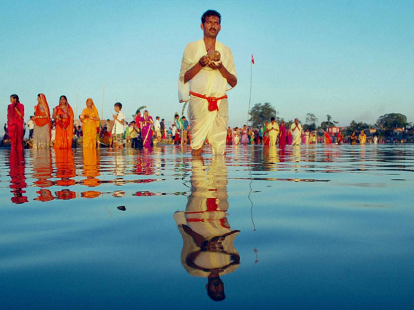 Indian-Americans celebrate Chhath Pooja