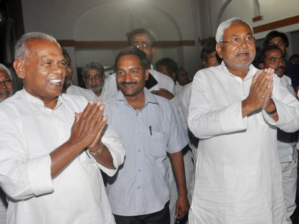 Manjhi denies 'differences' with Nitish