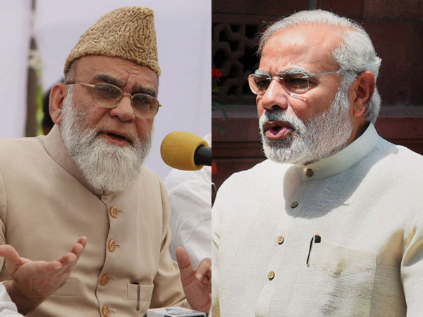 Syed Ahmed Bukhari and Narendra Modi