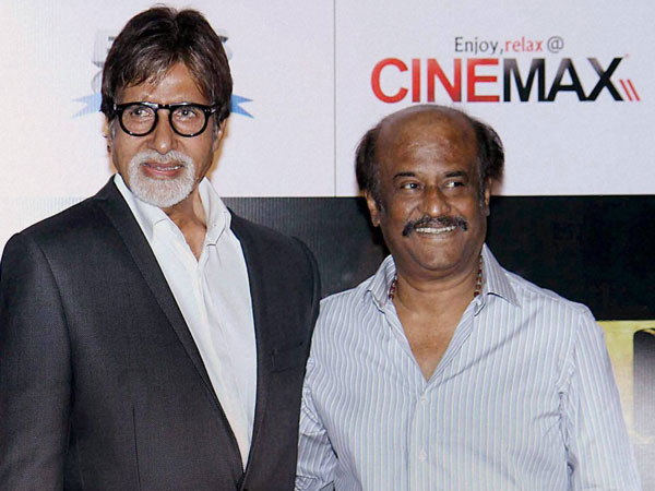 Amitabh and Rajinikant