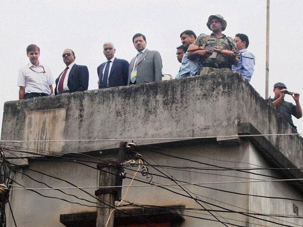 Burdwan: NIA visits wok factory