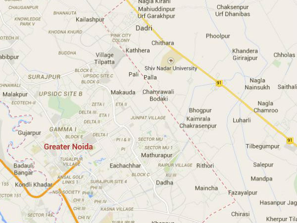 Former UP minister's son shot at in Greater Noida