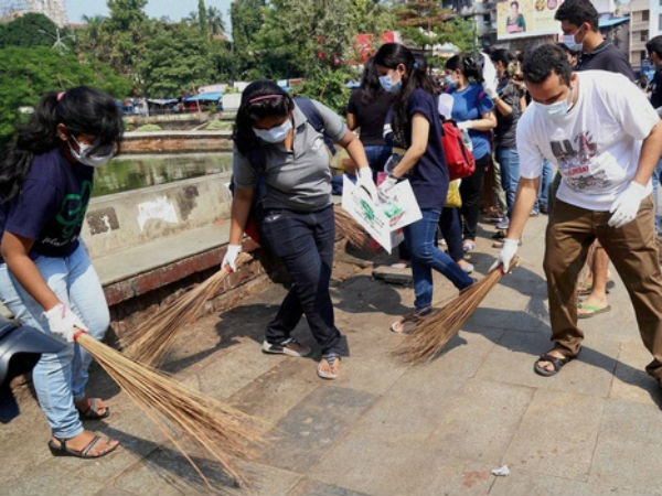 DU students to be trained for Swachh campaign
