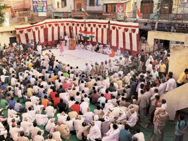 Mahapanchayat in Bawana bans Muharram procession in the area.