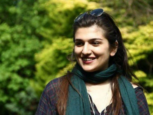 Ghoncheh Ghavami jailed for a year.