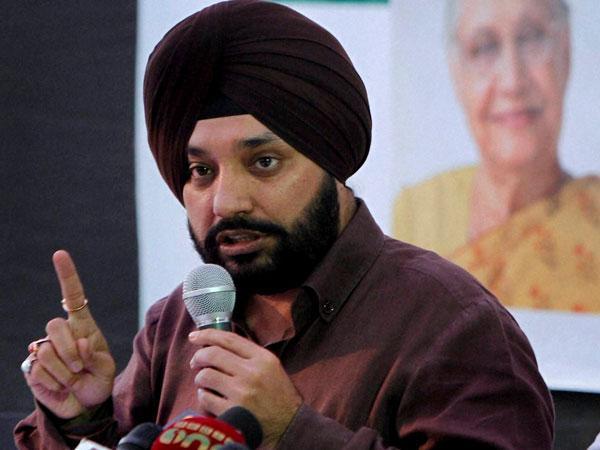 Congress MLA Arvinder Singh Lovely.