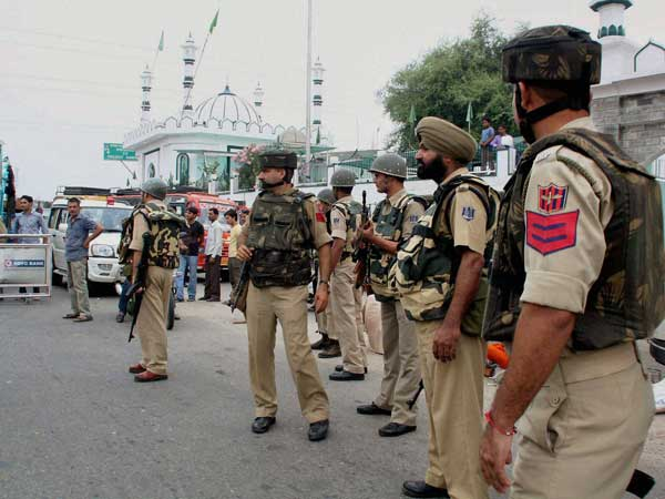 What led to the firing on Kashmir youths
