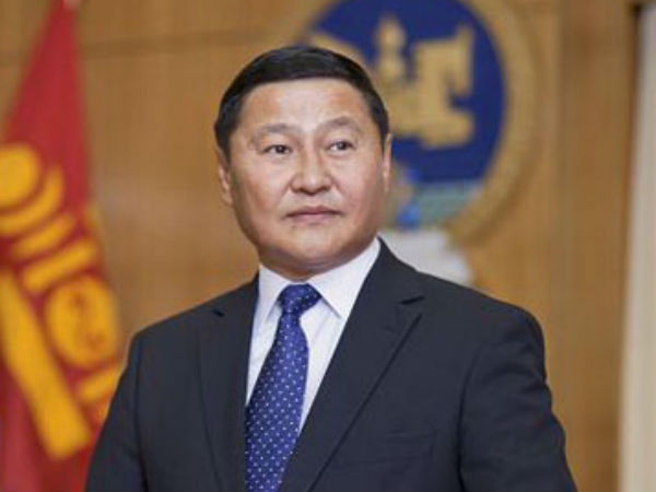 Mongolian Prime Minister Altankhuyag Norov. (file photo)