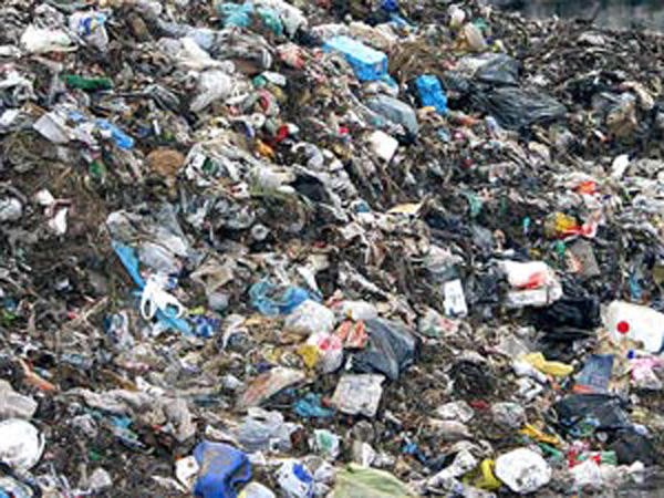 Garbage 'dumped' for Upadhyay to clean?