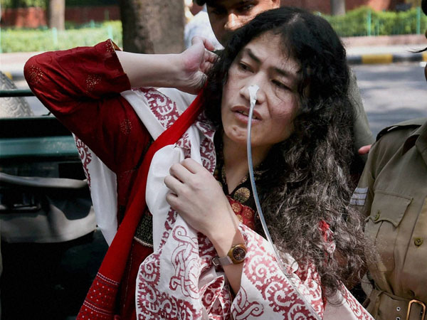 Irom Sharmila's fast enters 15th year