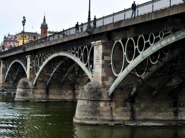 Triana Bridge.