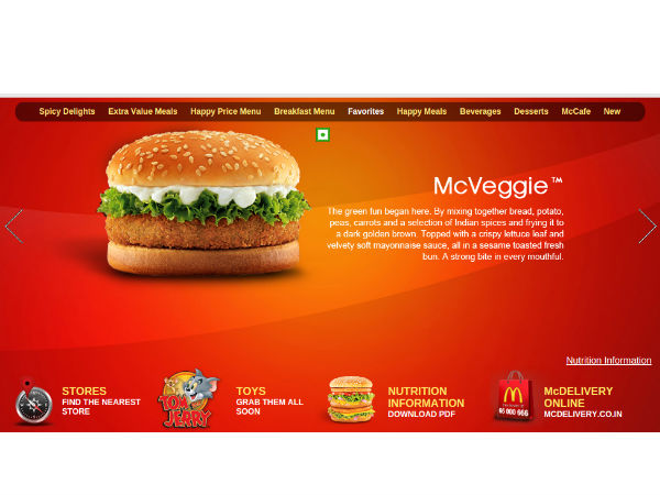 All orders - Free McAloo Tikki or Chicken McGrill at McDonalds