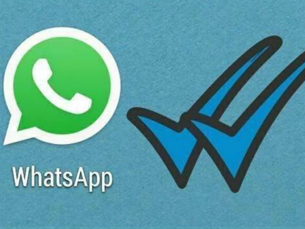 WhatsApp has come come with a new feature of blue ticks.