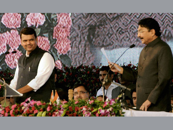 Security breach at Maha swearing-in