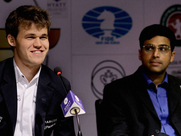 Chess: Anand to start with white