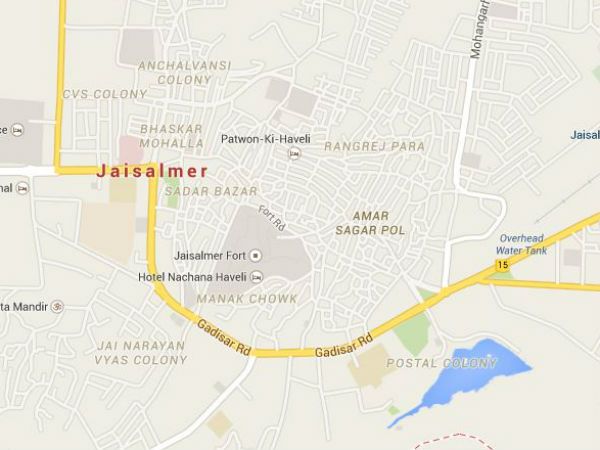 'Male prostitution growing in Jaisalmer'