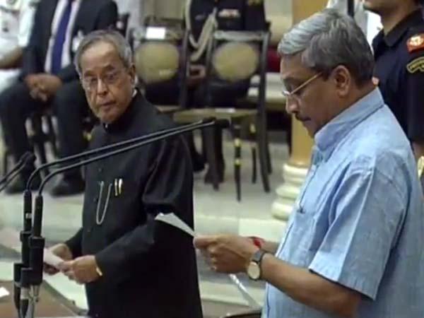 Former Goa CM Manohar Parrikar