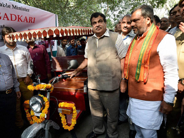 Minister for Road, Transport & Highways Nitin Gadkari