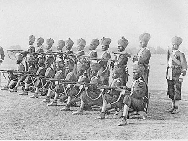British Indian Army.