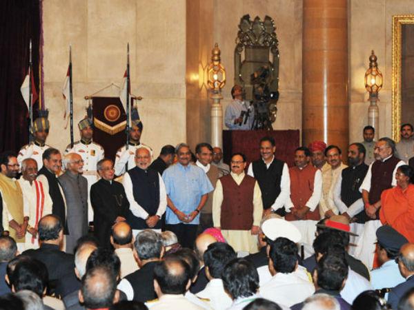 PM Narendra Modi expanded his ministry on Nov 9.