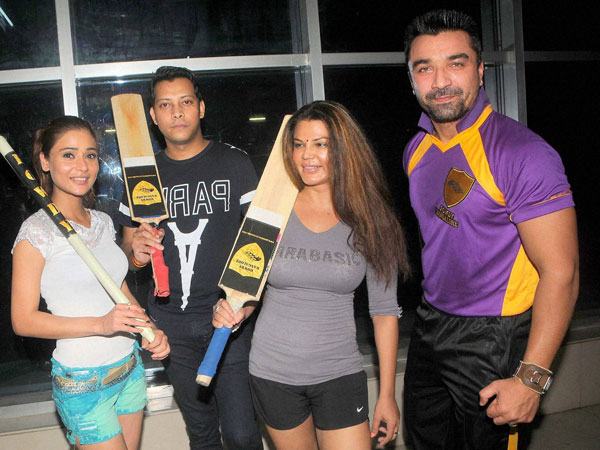Box Cricket League team Rowdy Bangalore in Mumbai