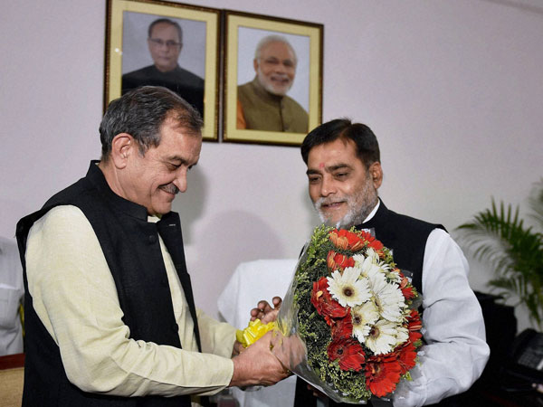 Minister of State for Drinking Water and Sanitation Ram Kripal Yadav