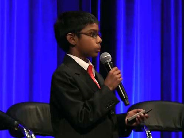 8-yr old CEO to lecture cyber experts