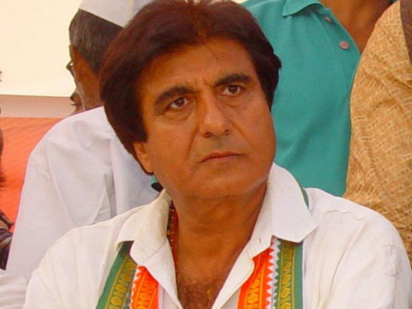Former MP and party spokesperson Raj Babbar addressed a rally in J&K.
