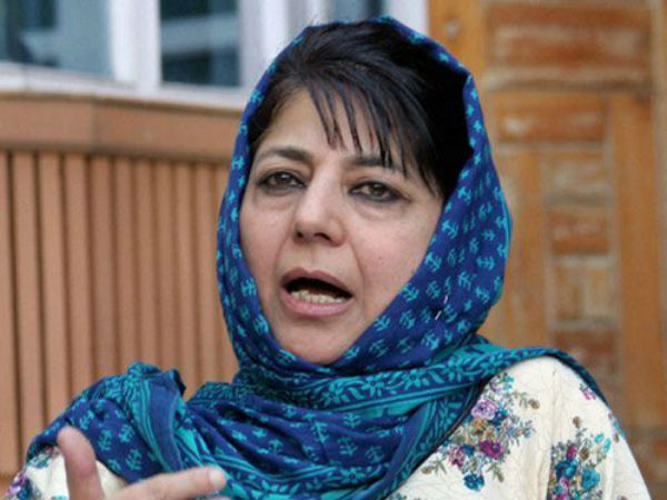 PD chief Mehbooba Mufti