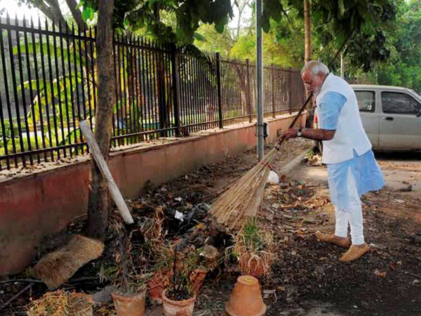 Modi is really aiming to give a high priority to that issue of sanitation, UN Deputy Secretary-General Jan Eliasson said.