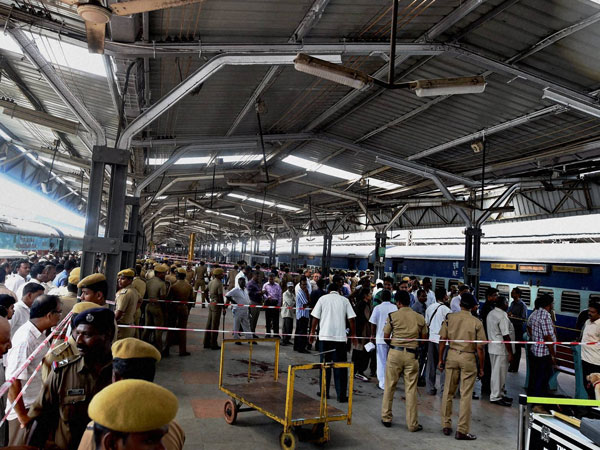 Chennai train blasts suspects arrested