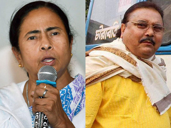 Mamata Banerjee and Madan Mitra