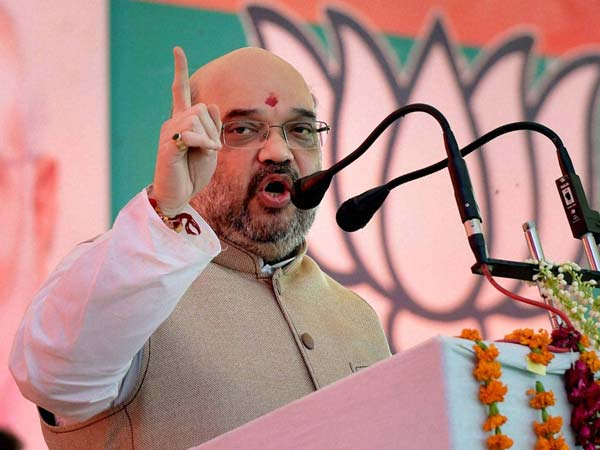 Amit Shah cautions against Cong-RJD-JD(U) alliance in Jharkhand.
