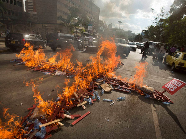 Protests erupt in Kenya after killing of 28 non-Muslims