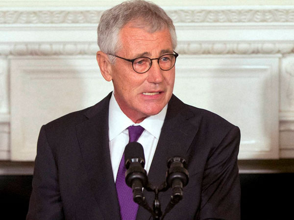 US defence secretary Hagel calls French Defence Minister
