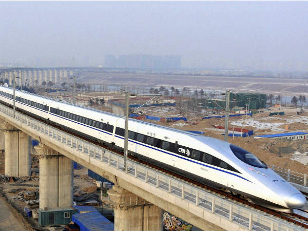 File photo of proposed bullet train