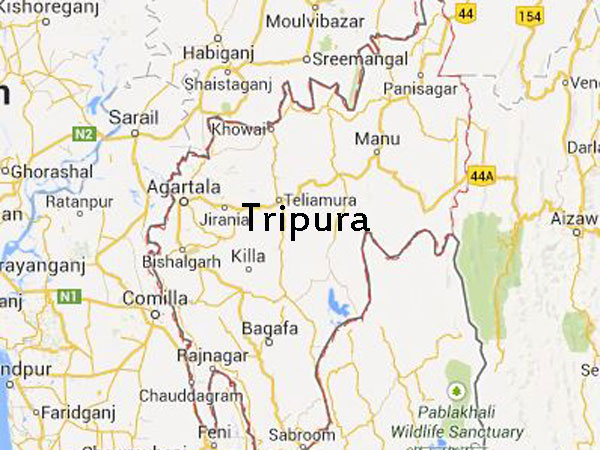 AFSPA extended in Tripura for 6 months.