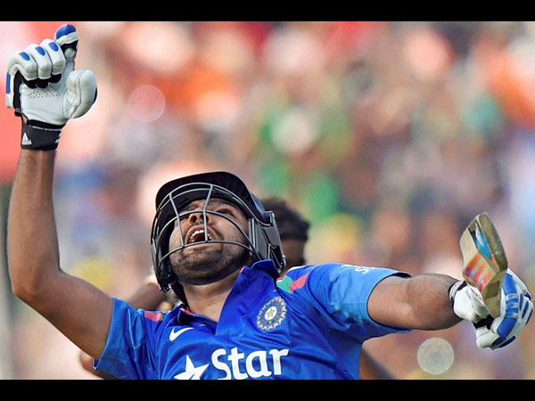 Rohit Sharma during his epic 264