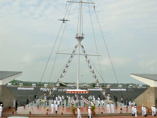 Memorial service for martyrs on Navy Day